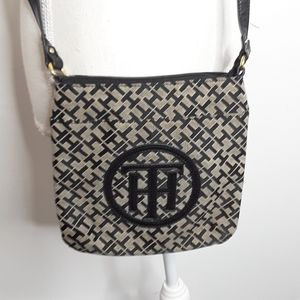 Tommy Hilfiger Iconic Monogrammed Cross-Body Bag
